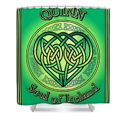 Quinn Soul Of Ireland Shower Curtain