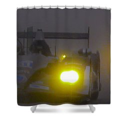 Rain Racers Shower Curtain