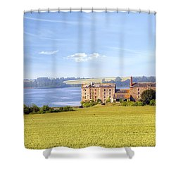 Rance - Bretagne Shower Curtain by Joana Kruse