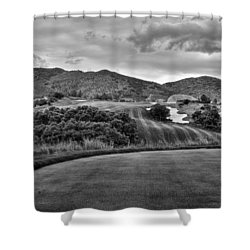 Shower Curtain featuring the photograph Ravenna Golf Course by Ron White