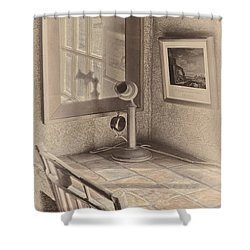 Reflections Shower Curtain by Susan Candelario
