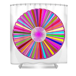 Colorful Signature Art Chakra Round Mandala By Navinjoshi At Fineartamerica.com Rare Fineart Images  Shower Curtain