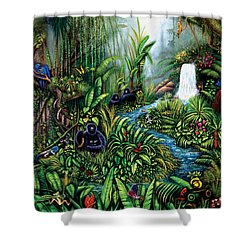 Resurgence Shower Curtain