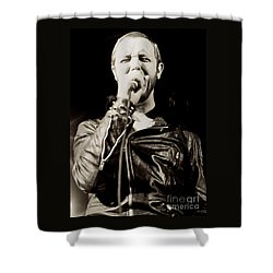 Rob Halford Of Judas Priest At The Warfield Theater During British Steel Tour - Unreleased  Shower Curtain