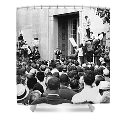 Robert Kennedy Shower Curtain by Underwood Archives