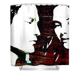 Robsten Shower Curtain by Svelby Art