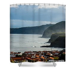 Rocks Of Strength Shower Curtain