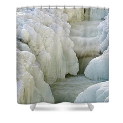Rocky Gorge Scenic Area - White Mountains New Hampshire Usa Shower Curtain by Erin Paul Donovan