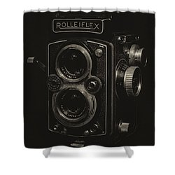 Rolleiflex Shower Curtain
