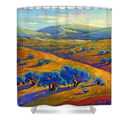 Rolling Hills 1 Shower Curtain