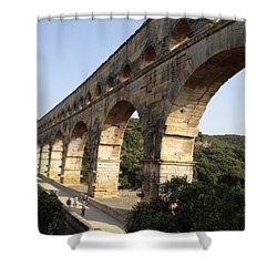Roman Aqueduct Shower Curtain by Pema Hou