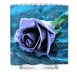 Rose In Water  Shower Curtain