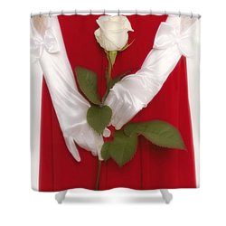 Rose Shower Curtain by Joana Kruse