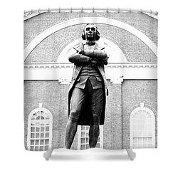Samuel Adams Statue, State House Boston Ma Shower Curtain