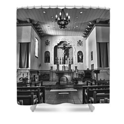 Shower Curtain featuring the photograph San Carlos Cathedral by Ron White