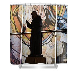 San Pio Shower Curtain