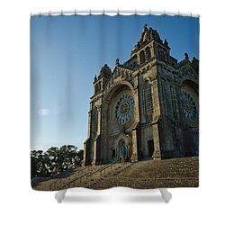 Santuario Do Sagrado Coracao De Jesus Shower Curtain