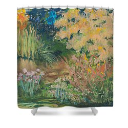 Saturday Morning Shower Curtain by Lee Beuther