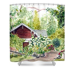 Sayen Woods Shower Curtain