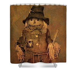 Scarecrow Shower Curtain by Dan Sproul
