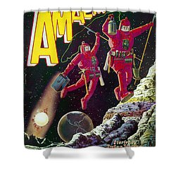 Science Fiction Cover 1929 Shower Curtain by Granger