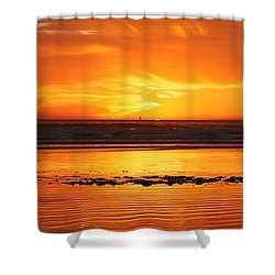 Seaside Reflections  Shower Curtain