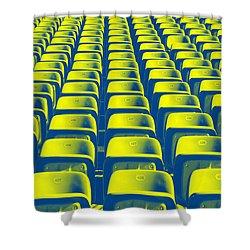 Seats Shower Curtain