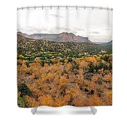 Sedona Panorama Shower Curtain