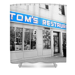 Seinfeld Diner Location Shower Curtain