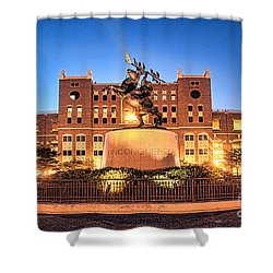 Seminole Fire - Unconquered Shower Curtain
