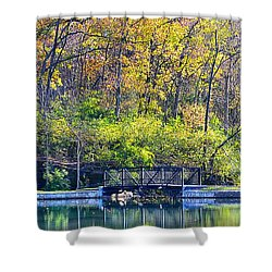 Sequiota Park Shower Curtain