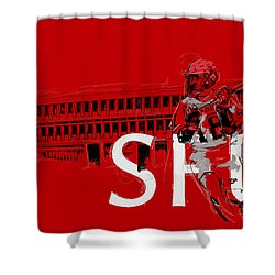 Sfu Art Shower Curtain by Catf