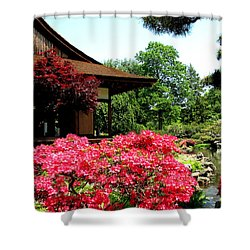 Shower Curtain featuring the photograph Shofusu by Christopher Woods