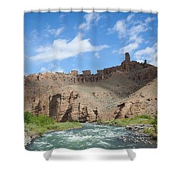 Shoshone River Shower Curtain