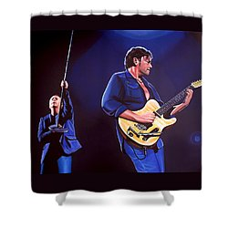 Simple Minds Shower Curtain by Paul Meijering