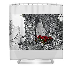 Sister Mary Shower Curtain