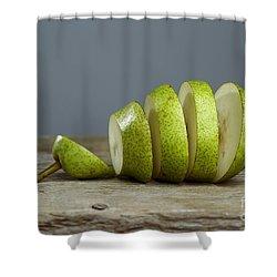 Sliced Shower Curtain by Nailia Schwarz