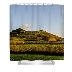 Smoke On The Top Shower Curtain