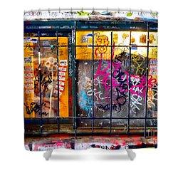 Social Conscience Shower Curtain by Lauren Leigh Hunter Fine Art Photography