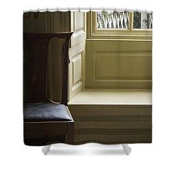 Solitude Shower Curtain by Margie Hurwich