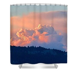 Soothing Sunset Shower Curtain by Will Borden