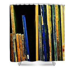 Source Shower Curtain by Skip Hunt