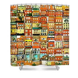 Southside Pittsburgh Shower Curtain