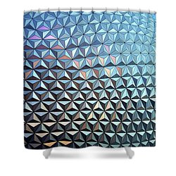 Shower Curtain featuring the photograph Spaceship Earth by Cora Wandel