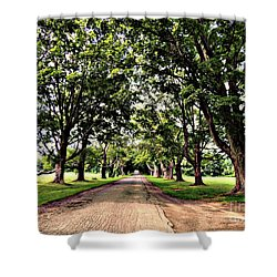 Spencer Peirce Little Farm Shower Curtain