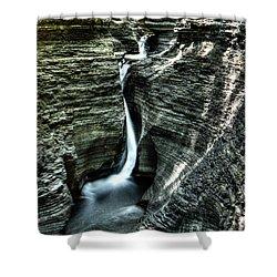 Spiral Gorge Watkins Glen Shower Curtain