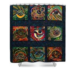 Spirit Eye Collection II Shower Curtain