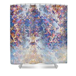 Spiritual Torrents Shower Curtain by Christopher Gaston