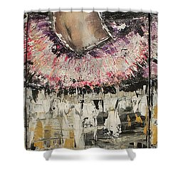 Split Endz Shower Curtain by Lucy Matta - LuLu