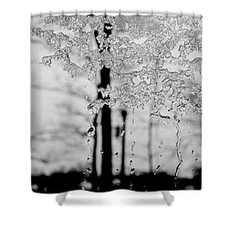 Melting Winter's Heart Shower Curtain